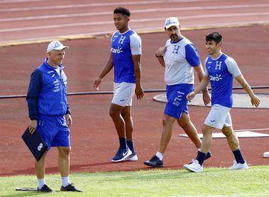 Honduras entrena fuerte para un juego contra EE.UU. en la Liga de Naciones de la Concacaf