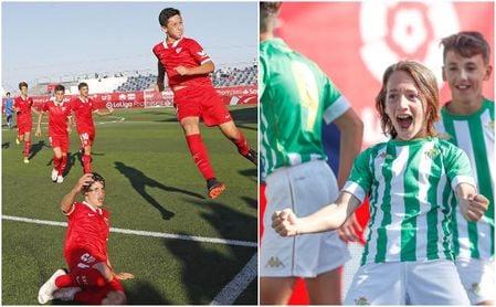 Betis y Sevilla buscan este domingo una final de derbi en LaLiga Promises