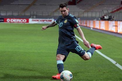 """Lionel Messi: """"Estoy contento de estar con la selección otra vez"""""""