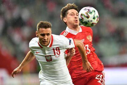 1-1. Polonia empata con Lewandowski en el banquillo