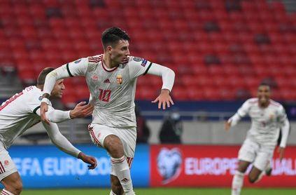 El húngaro Dominik Szoboszlai no jugará la Eurocopa por lesión