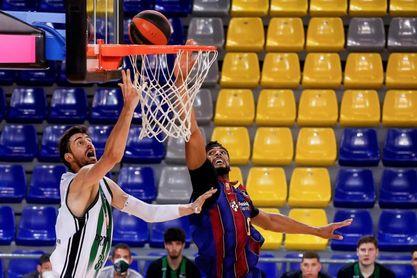 84-74: El Barça se levanta ante el Joventut con un sensacional Bolmaro