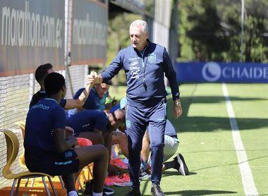 """Alfaro: """"contra Brasil será un gran desafío y para allá vamos"""""""
