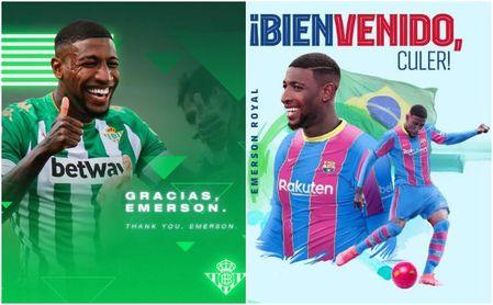 Betis y Barcelona hacen oficial el traspaso de Emerson