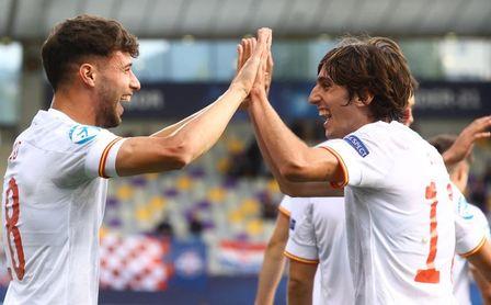 Ya hay onces para el España-Portugal, semis de la Euro sub 21: sigue Bryan y entra Puado pero no Miranda