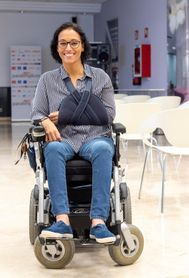 Teresa Perales: Sueño con competir, no con llegar
