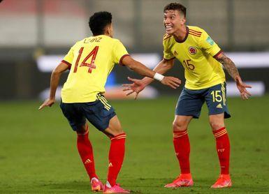 0-3. Colombia se rehace con una goleada que hunde a Perú