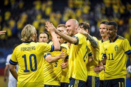 3-1. Suecia gana con solvencia a una floja Armenia