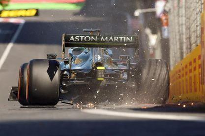 Leclerc domina en la locura de Baku
