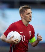 1-2. Noruega, con Haaland y Odegaard, se despide con derrota de Málaga