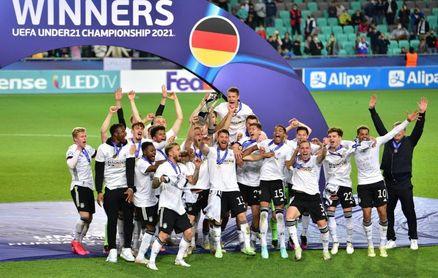 1-0. Nmecha le da a Alemania su tercer Europeo sub-21