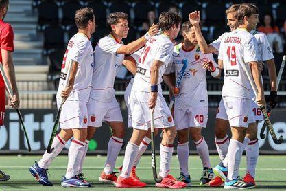 España sella ante Rusia su primera victoria (5-1)