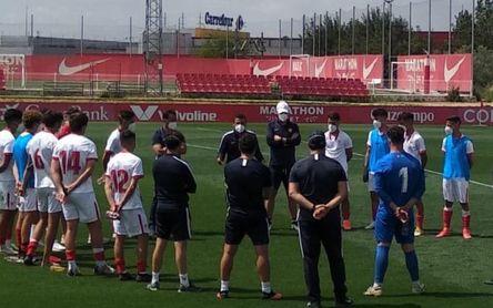 El Sevilla juvenil se queda sin Copa de Campeones
