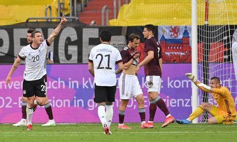 7-1. Alemania se da un banquete previo a la Eurocopa