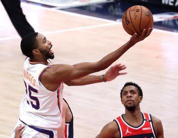 122-105. Los Nuggets se derriten en Phoenix y los Suns se adelantan 1-0