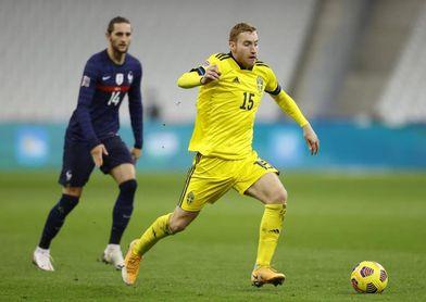 El atacante sueco del Juventus Dejan Kulusevski, positivo por coronavirus
