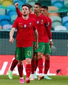 4-0. Portugal gana a Israel, aunque ofrece muchas dudas