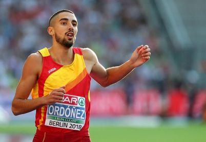Saúl Ordóñez se centra definitivamente en los 800 metros para llegar a Tokio