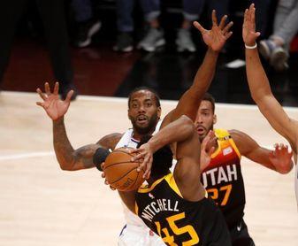 Sixers sufren ante Hawks; Jazz frente a Clippers con remontada y triunfo