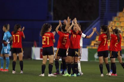 3-0. España no encuentra oposición en Bélgica