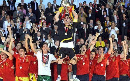 Bélgica/Holanda 00-Francia 16: La generación de oro del fútbol español