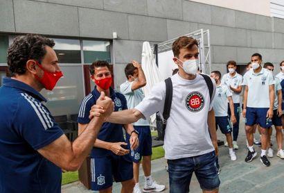 Diego Llorente da negativo por cuarta vez y estará en la Eurocopa