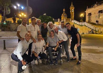 Unzué y el Sevilla de los 90 se reúne en Triana.