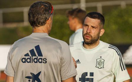 """Jordi Alba: """"Noto mucha ilusión por hacer algo grande"""""""