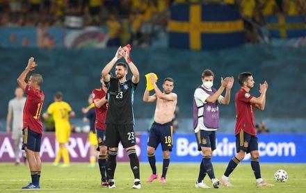 España y Suecia firman el primer 0-0 del torneo