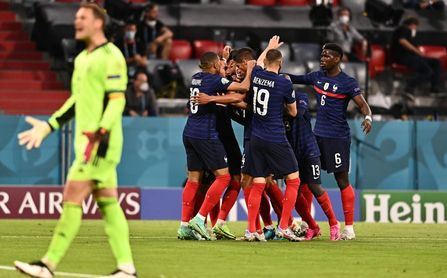 1-0: Francia sigue reinando