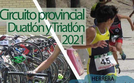Diputación pone en marcha su circuito provincial de duatlón y triatlón 2021.