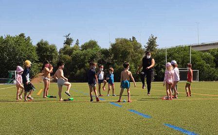 Actividades infantiles se clausuran con la Fiesta del Agua.