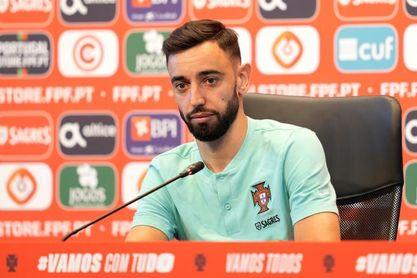 """Bruno Fernandes: """"Cristiano es decisivo, pero lo más importante es el grupo"""""""