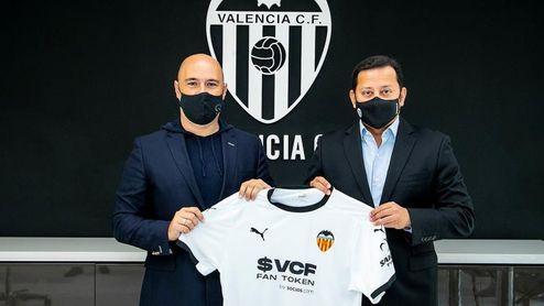 El Valencia crea su moneda digital que anunciará en el frontal de su camiseta
