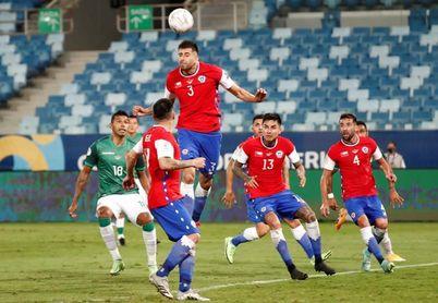 1-0. El inglés Benjamin Brereton le da el triunfo a Chile y hunde a Bolivia