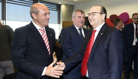 """Castro dice que el pacto de gobernabilidad """"sigue vigente"""" en el Sevilla FC."""