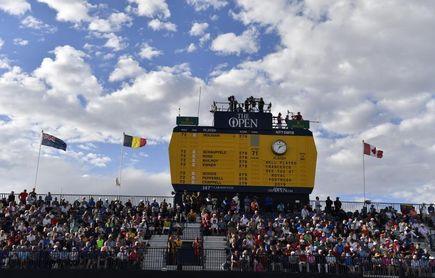 El Open británico de golf admitirá a 32.000 espectadores por día