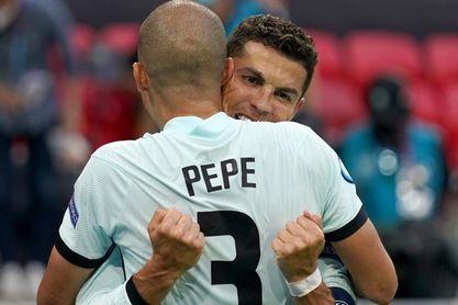 Cristiano, Pepe, Benzema y Varane, cruce de caminos