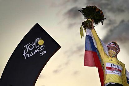 """Pogacar:""""Es un privilegio defender el título del Tour de Francia"""""""