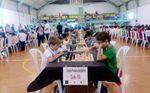 Los tableros toman Sevilla con motivo del XLVI Abierto Internacional de Ajedrez y la VIII Olimpiada Interescolar.