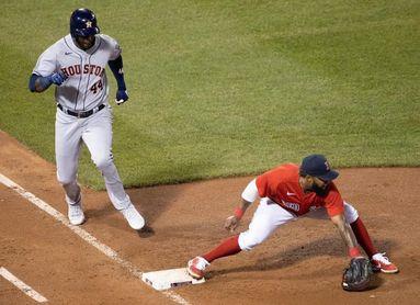 El cubano Álvarez protagoniza la exhibición bateadora de los Astros