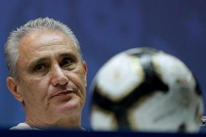 Tite, molesto con la multa de la Conmebol por criticar la Copa América