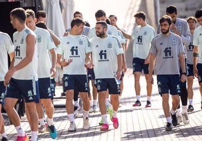 Último entrenamiento en la Ciudad del Fútbol con el deseo de volver
