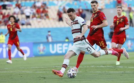1-0. Thorgan Hazard mete a Bélgica en cuartos y elimina al vigente campeón