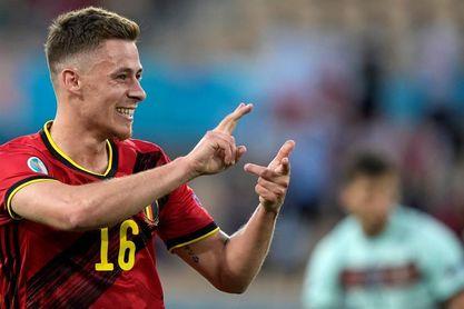 """Thorgan Hazard: """"Ha sido el gol más importante de mi vida"""""""