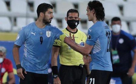 1-0. Cavani vive del gol y Uruguay se verá de nuevo con Colombia en Brasil