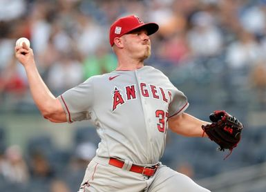 Los Angeles Angels at New York Yankees