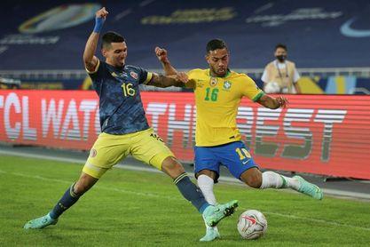 "Brasil descarta sustituir al lateral Renan Lodi pese a un ""trauma fuerte"""