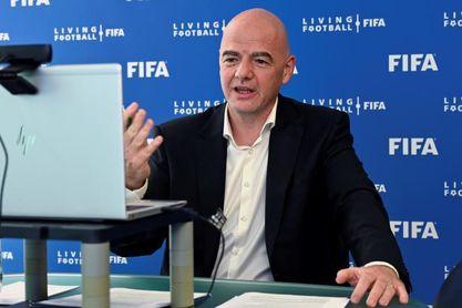 """Infantino, por """"un fútbol más sano, menos discriminatorio y más competitivo"""""""