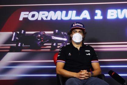 Alonso: El pasado fue un fin de semana duro e intentaremos subir el nivel